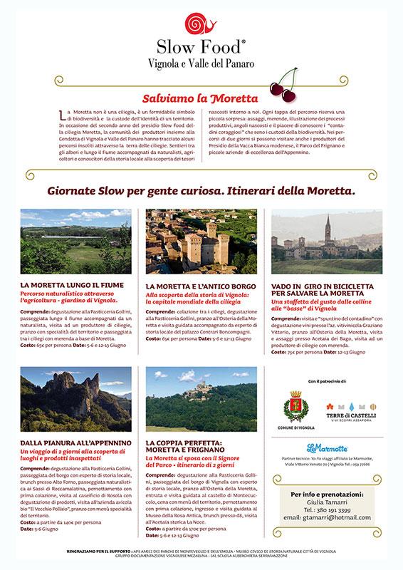 Itinerari della ciliegia Moretta